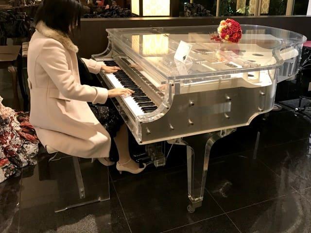 ピアノの演奏会、最後に音を外してしまった